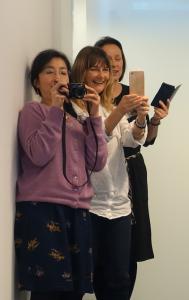 Taking photos at Mathspeak meeting Feb 2019